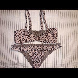 Acacia Swimwear Leopard Set